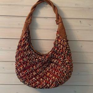 Jessica Simpson Handbag Hobo Orange Brown